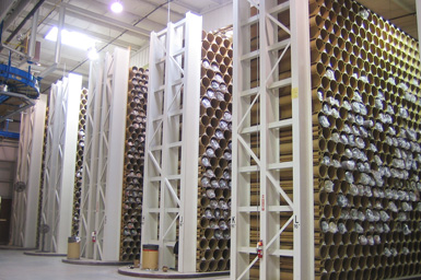 Warehousing & Distribution for Fabric Storage Tubes
